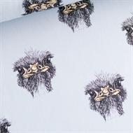 Afbeelding van Ostrich - French Terry - Halogeen Blauw