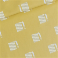 Picture of Painted - M - French Terry - Sulphur Yellow